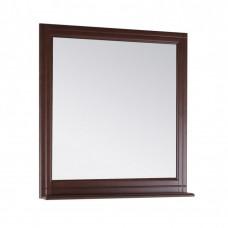 Зеркало ASB-Woodline Берта 85 массив ясеня орех