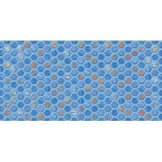 AXIMA вставка настенная D1 АНКОНА 300х600мм синяя