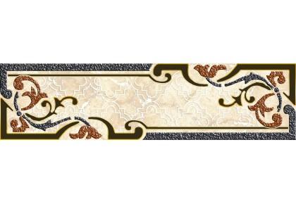 AXIMA бордюр настенный B2 ИЗАБЕЛЬ 250х65мм