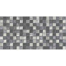 AXIMA плитка настенная МЕГАПОЛИС 250х500мм темно-серая мозайка