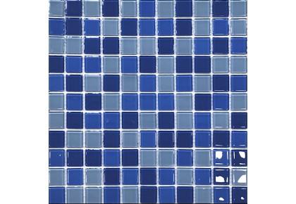 МОЗАИКА Global Bridge  30x30 M4CB3303 микс светло-голубой