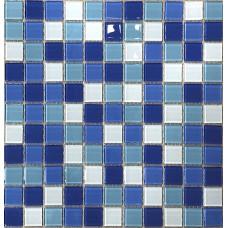 МОЗАИКА Global Bridge  30x30 M4CB3402 микс светло-голубой