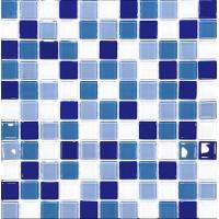 МОЗАИКА Global Bridge  30x30 M4CB3403 микс голубой