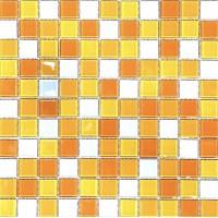 МОЗАИКА Global Bridge  30x30 M4CB8404 микс желто-оранжевый