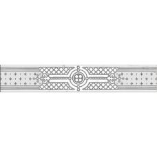 ФРИЗ GRASARO Classic Marble 7x40 G-270/g/fo2 Белый