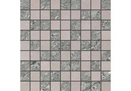 МОЗАИКА GRASARO Crystal 30x30 G-600(610)/PR/mo1 Серо-бежевый
