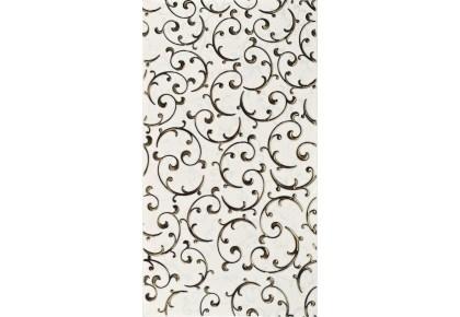 LASSELSBERGER Настенная плитка декор Анастасия 1645-0095 25x45 Кремовый