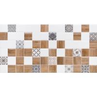 LASSELSBERGER Настенная плитка декор 2 Астрид 1041-0239 20х40 белая