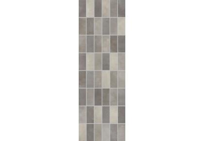 LASSELSBERGER Настенная плитка панно мозаика Фиори Гриджо 1064-0103 20х60 тёмно-серая