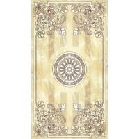 LASSELSBERGER Настенная плитка декор Кендо 1045-0080 25х45 бежевый