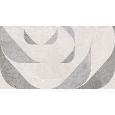 LASSELSBERGER Настенная плитка Лофт Стайл 1045-0128 25х45 геометрия серая