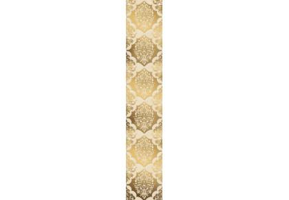 LASSELSBERGER Бордюр настенный Магриб 1507-0011 7,75x45 золотой