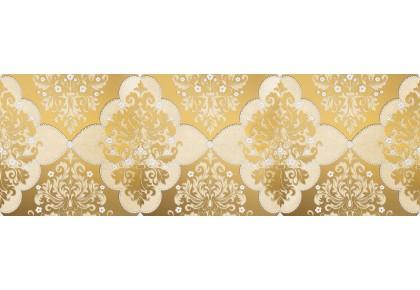LASSELSBERGER Бордюр настенный Магриб 1508-0006 8,5x25 золотой