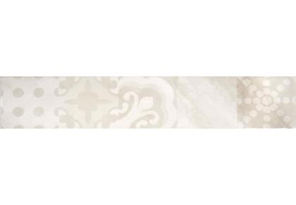 LASSELSBERGER Бордюр настенный Меравиль 1504-0151 8х45 светлый