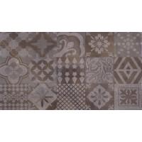 LASSELSBERGER Настенная плитка декор Меравиль 1645-0118 25х45 темный