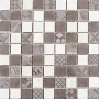 LASSELSBERGER Настенная плитка Мозаика 1932-0013 30х30 Темный