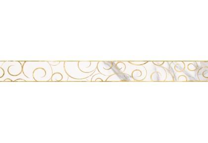 LASSELSBERGER Бордюр настенный Миланезе Дизайн 1506-0154 6х60 флорал каррара
