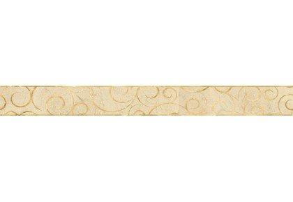 LASSELSBERGER Бордюр настенный Миланезе Дизайн 1506-0156 6х60 флорал крема