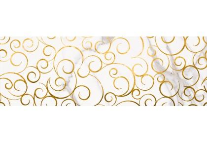 LASSELSBERGER Настенная плитка декор Миланезе Дизайн 1664-0140 20х60 флорал каррара