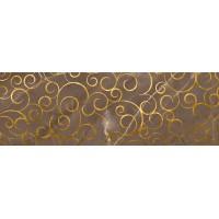 LASSELSBERGER Настенная плитка декор Миланезе Дизайн 1664-0146 20х60 флорал марроне