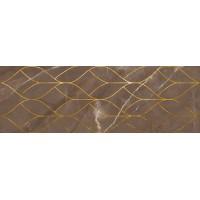 LASSELSBERGER Настенная плитка декор Миланезе Дизайн 1664-0158 20х60 тресс марроне