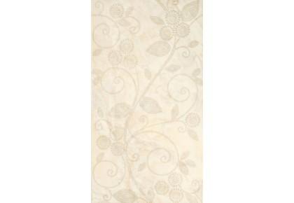 LASSELSBERGER Настенная плитка Оникс жемчуг декор 1645-0045 25x45 бежевая