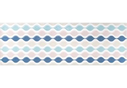 LASSELSBERGER Настенная плитка декор Парижанка 1664-0172 20x60