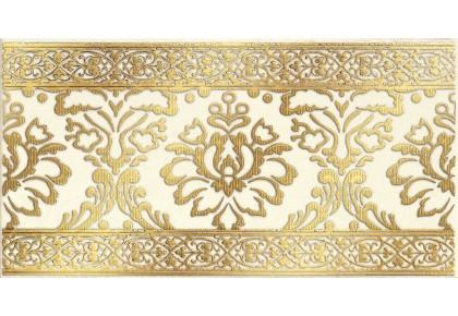 LASSELSBERGER Бордюр настенный Катар 1502-0610 13x25 белый