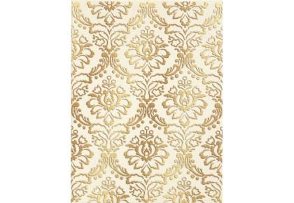 LASSELSBERGER Настенная плитка декор Катар 1634-0090 25х33 белый