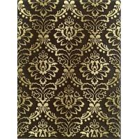 LASSELSBERGER Настенная плитка декор Катар 1634-0091 25х33 коричневый
