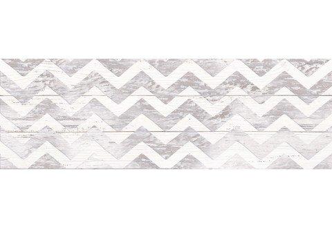 LASSELSBERGER Настенная плитка Шебби Шик декор 1064-0098 20х60 серая