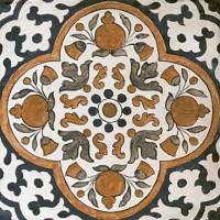 LASSELSBERGER Вставка напольная Сиена 3603-0087 9,5х9,5 универсальная