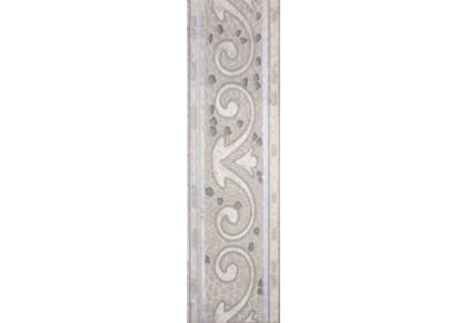 LASSELSBERGER Бордюр напольный Тенерифе 3604-0104 14х45 серебряный