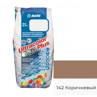 Затирка для швов MAPEI Ultracolor Plus 142 (коричневый)