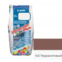 Затирка для швов MAPEI Ultracolor Plus 143 (терракотовый)
