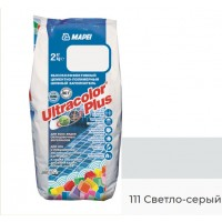 Затирка для швов MAPEI Ultracolor Plus 111 (светло-серый)