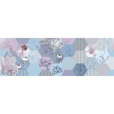 Mei вставка MODERN стена многоцветная 25х75 см Арт. MOD-WIU452