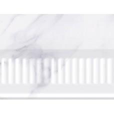 НЕФРИТ-КЕРАМИКА бордюр объёмный NARNI 200х150х112,6 мм серый 13-01-1-13-42-06-1030-0