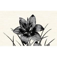 НЕФРИТ-КЕРАМИКА вставка декоративная PIANO 400х250х8мм черный 04-01-1-09-03-04-081-1