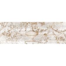 НЕФРИТ-КЕРАМИКА вставка декоративная ПРОВАНС 600х200х9мм серый 04-01-1-17-03-06-867-1
