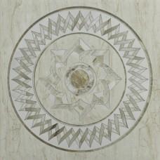 TileKraft керамогранит Floor Tiles-PGVT 2010 Décor 600x600 Полированная