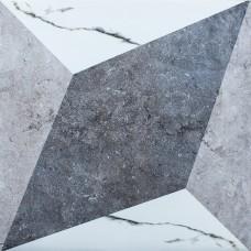 TileKraft керамогранит Floor Tiles-PGVT 2114 Décor 600x600 Полированная